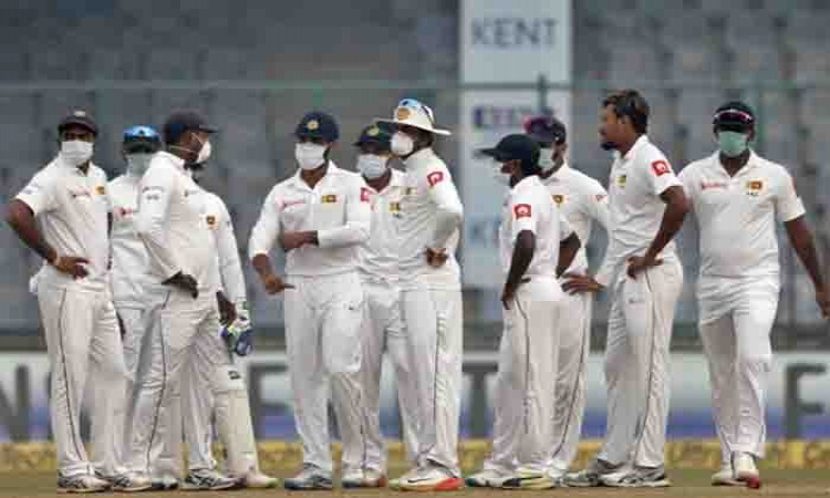 Delhi Test: Suranga Lakmal leaves field sick on Day 4 Images