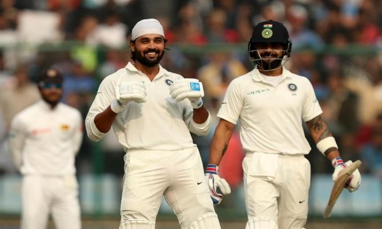 Delhi Test: Murali Vijay, Virat Kohli help India to strong position
