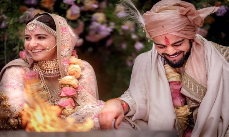 Celebs wish Virat Kohli and Anushka Sharma happily ever after