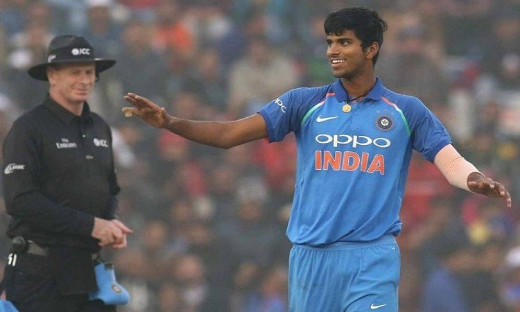 washington sundar youngest to debut for india in t20 international