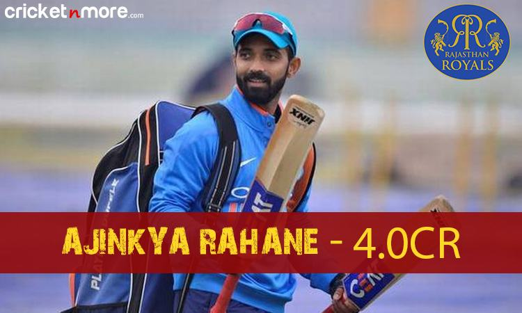 Ajinkya Rahane (Rajasthan Royals) Images in Hindi