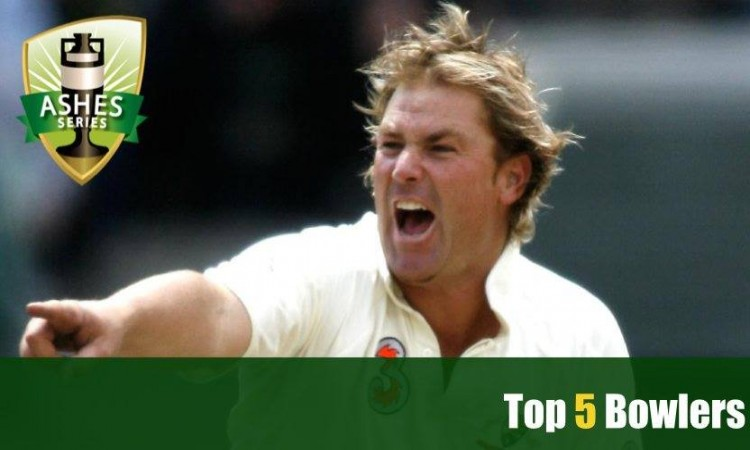Top 5 Bowlers in Ashes Cricket Series Images