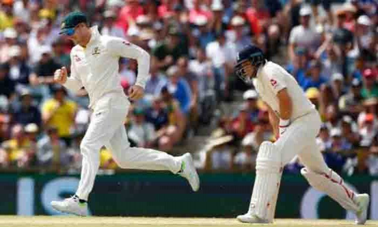 Images for Australia in driver's seat in final Ashes Test