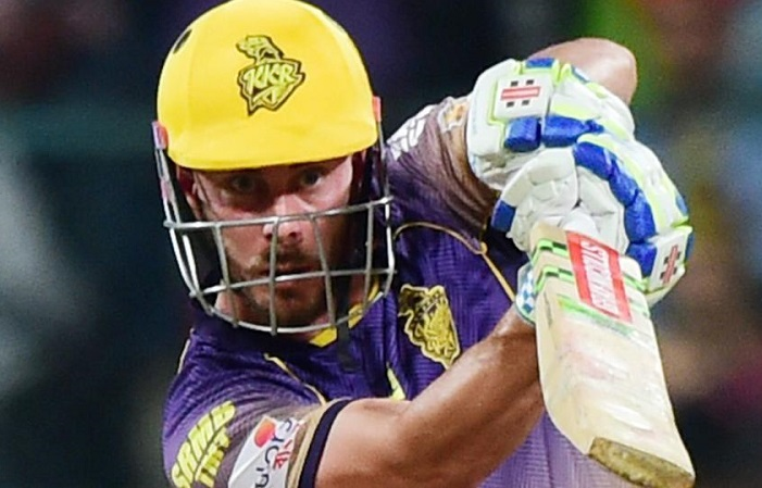 Chris Lynn is sold to KKR for 960 lacs