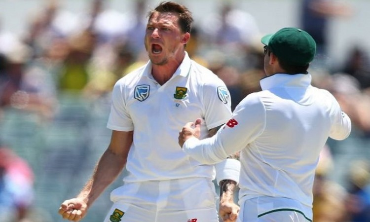 Dale Steyn surpassed Javagal Srinath in record of Most wickets in India South Africa Tests