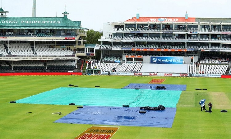 India vs South Africa play on Day 3 of First Test called off