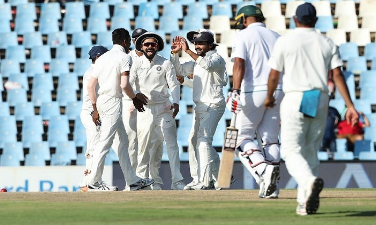 2nd Test: India bowl out South Africa for 335