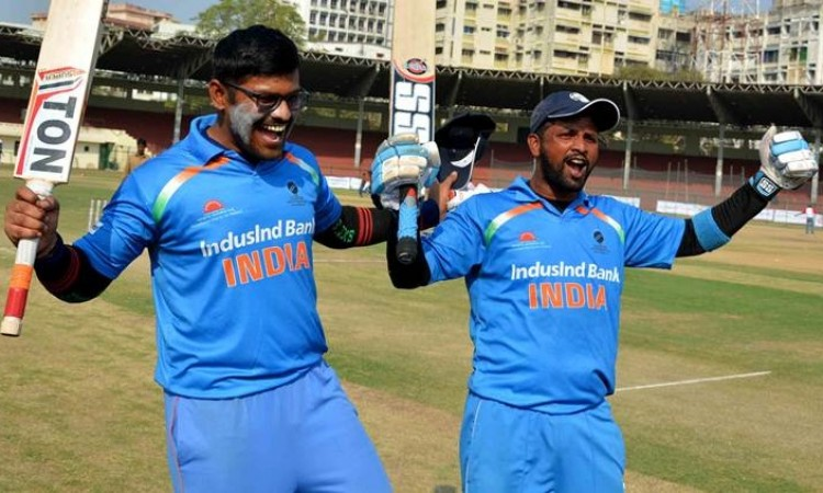 Images for India beat Pakistan in Blind Cricket World Cup tie