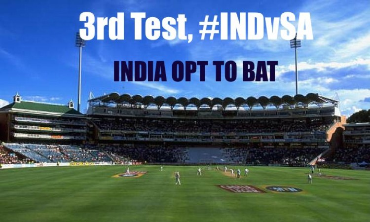 India opt to bat against South Africa in third test Images