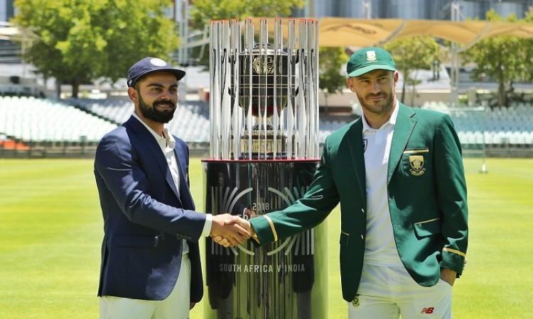 India vs South Africa 1st Test Match Live Score