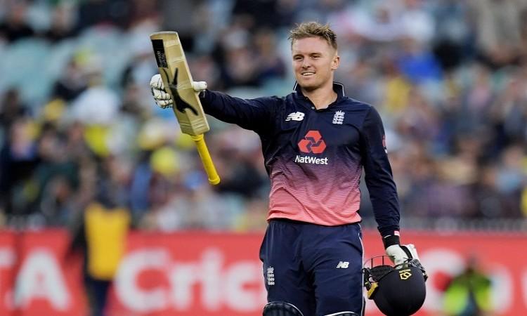 Jason Roy hits record 180 help England to beat australia by 5 wickets
