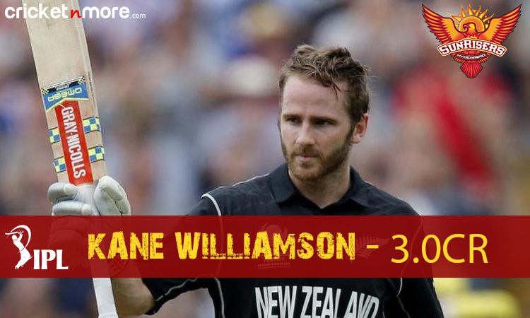 Kane Williamson (Sunrisers Hyderabad) Images in Hindi