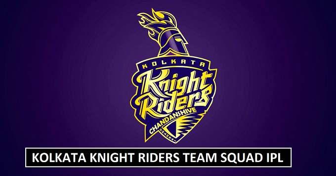 Kolkata Knight Riders Squad