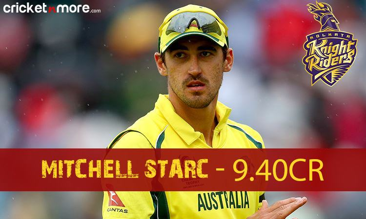 Mitchell Starc (Kolkata Knight Riders) Images