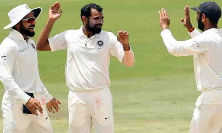 2nd Test (Day 4): Mohammed Shami reduces South Africa to 173/5 at lunch Images
