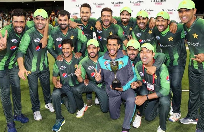 Pakistan become number one in ICC T20 Rankings after defeating New Zealand 2-1