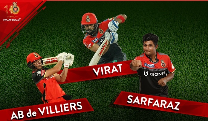 royal challengers bangalore team for IPL 2018