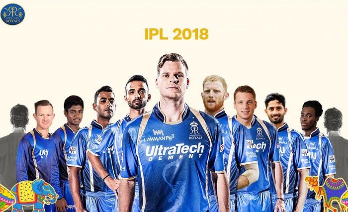 Rajasthan Royals Squad for IPL 2018