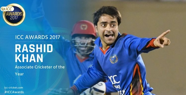 Rashid Khan (Afghanistan)   ICC Men's Associate Cricketer Of The Year Images