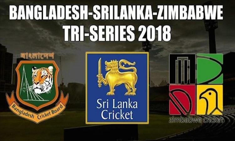Bangladesh-Zimbabwe-Sri Lanka Tri-Series 2018