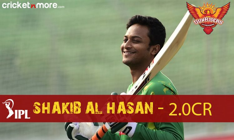 Shakib Al Hasan (Sunrisers Hyderabad) Images in Hindi