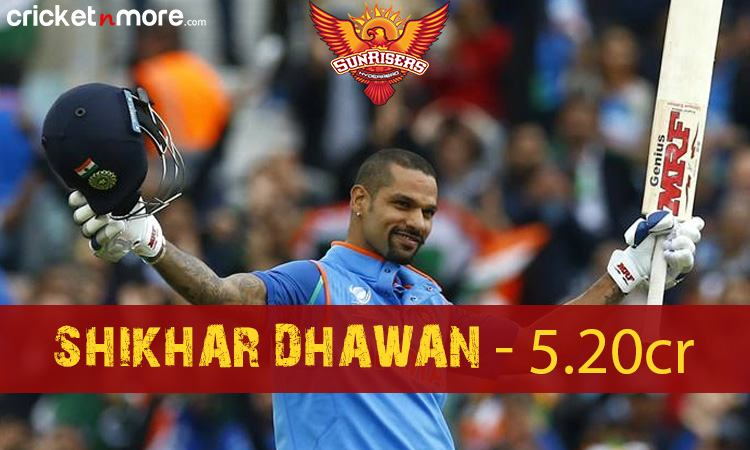 Shikhar Dhawan (Sunrisers Hydrabad) Images in Hindi