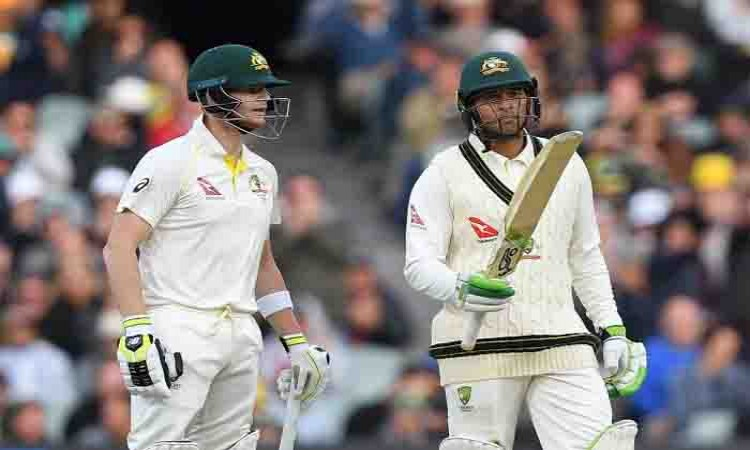 Ashes: Usman Khawaja, Steven Smith hand Australia good start Images