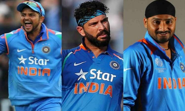 Yuvraj Singh, Harbhajan Singh and Suresh Raina to take part in the Syed Mushtaq Ali Trophy