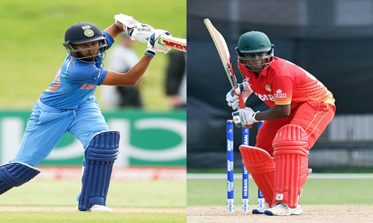 Images for U19 World Cup: India thrash Zimbabwe in last group tie