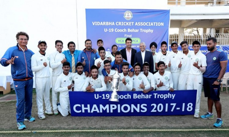 Vidarbha clinch Cooch Behar U19 trophy