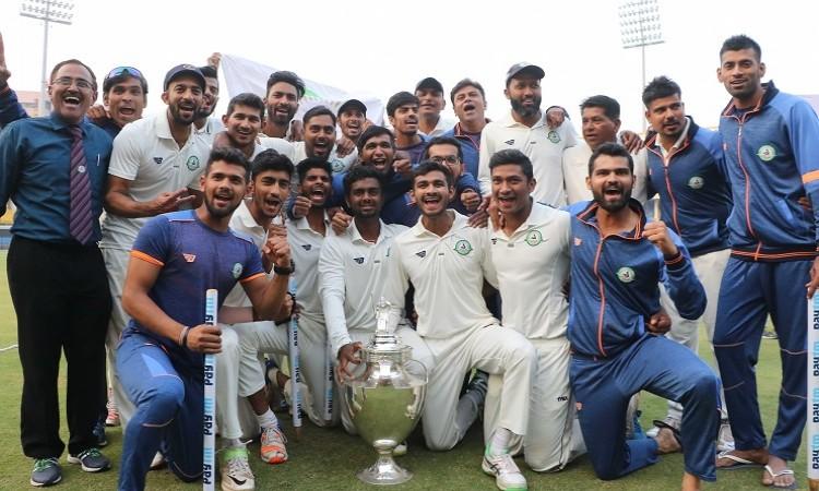 Vidarbha beat Delhi to win maiden Ranji Trophy title