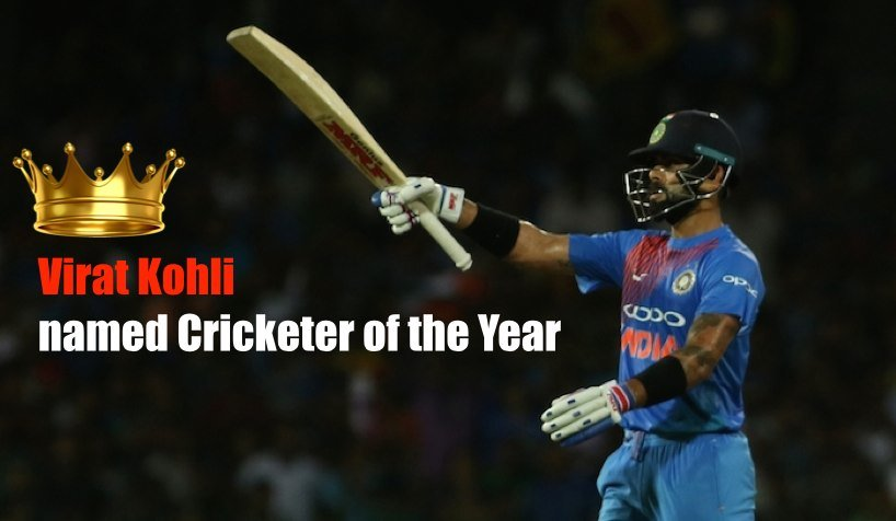Virat Kohli (India), Sir Garfield Sobers Trophy For ICC Men's Cricketer Of The Year Images