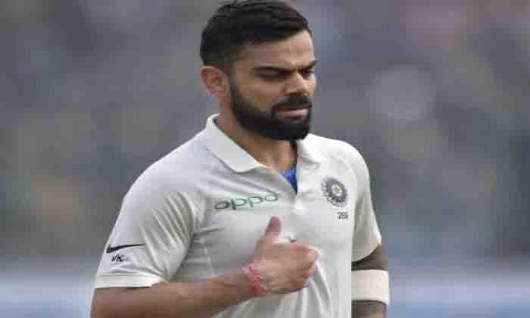 ICC slaps 25% match fee fine on Virat Kohli for misconduct Images