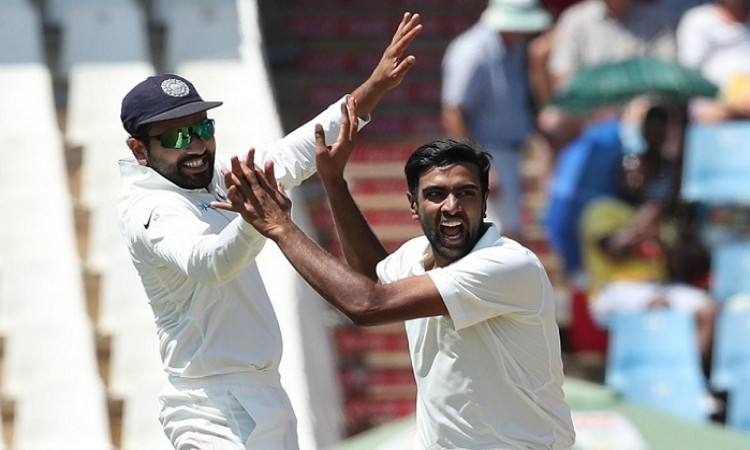 Ravichandran Ashwin first Indian spinner to take a 4-wicket in the 1st innings in South Africa