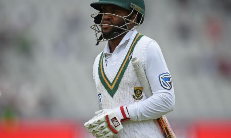 Fractured finger rules out Temba Bavuma from India series Images