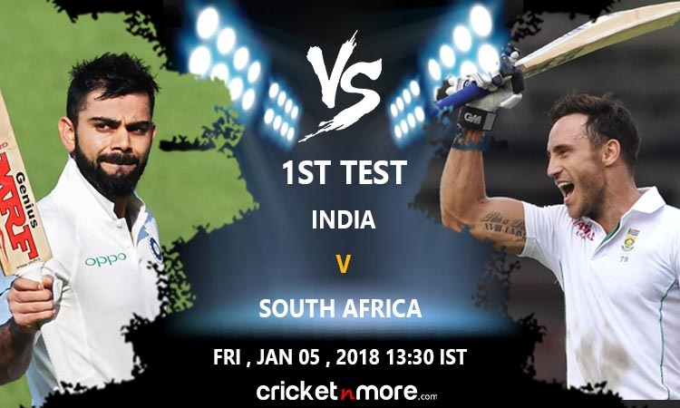 India vs South Africa Test Series