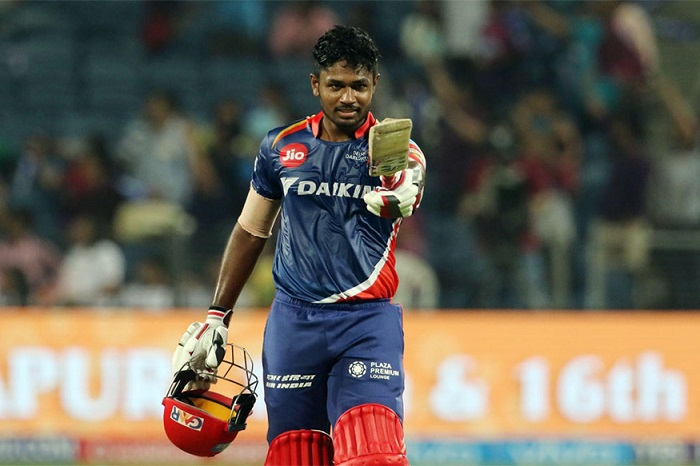 Sanju Samson is sold to rajasthan royals for INR 800 lacs