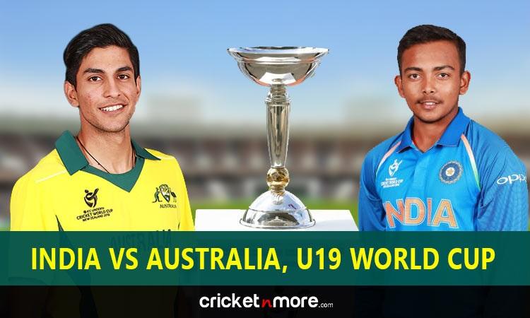 India vs Australia in ICC Under 19 World Cup