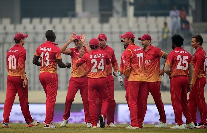 zimbabwe beat sri lanka by 12 runs in tri series