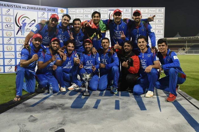 Afghanistan beat Zimbabwe to go eighth in the ICC T20I Team Rankings