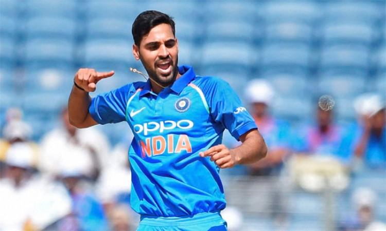 Bhuvneshwar Kumar jumps to 12th in ICC T20I rankings