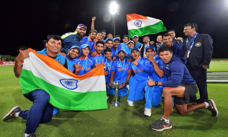 BCCI top brass hails victorious India U19 team Images