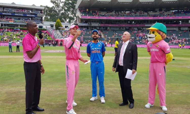 India opt to bat in Pink ODI vs S. Africa Images