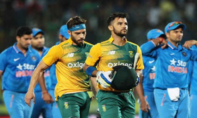 JP Duminy to lead South Africa in T20I series against India