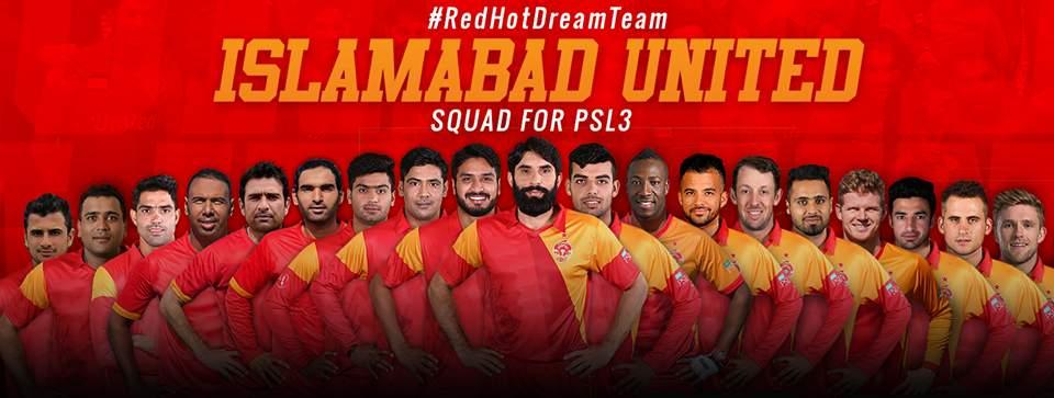 Islamabad United Squad