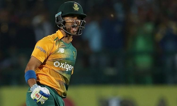 JP DUMINY breaks AB de Villiers record