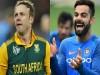 Virat Kohli breaks AB de Villiers record