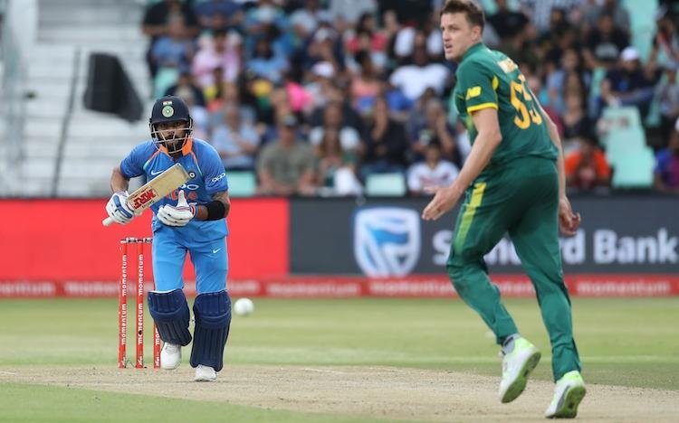 Kohli In Action Images