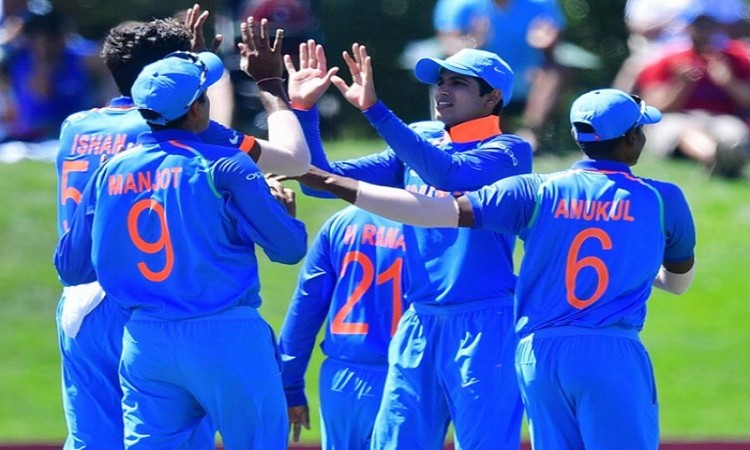 Manjot Kalra guides clinical India to 4th ICC U19 World Cup title Images