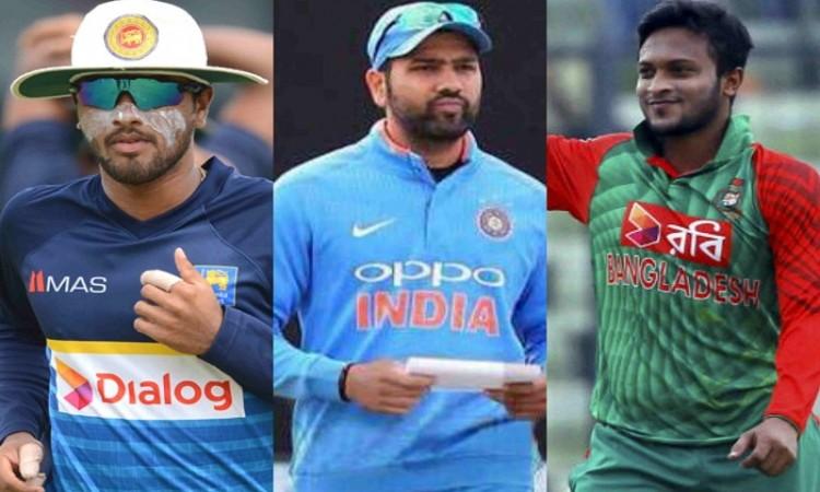 Sri Lanka announce 15 man squad for Nidahas Trophy